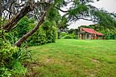 Hütte Whariwharangi Hut, Abel Tasman Coastal Track, Great Walks, Abel Tasman Nationalpark, Tasman, Südinsel, Neuseeland