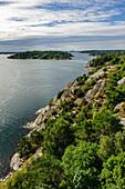 View from bridge to the island Tjörn, Bohuslän, Sweden
