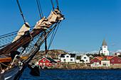 Skärhamn harbor, Tjörn island, Bohuslän, Sweden