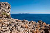 Rocky coast near Agios Pavlos, Crete, Greece, Europe