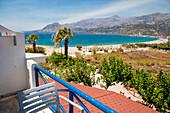Küstenlandschaft mit Meerblick, Plakias, Kreta, Griechenland, Europa