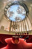 La Cite du Vin, The city of wine, Exibition room,  Bordeaux, Frankreich, Bordeaux, France