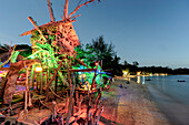 Hippie Bar, Tree House Bar, Buffallo Bay, Aow Kao Kwai,  Koh Phayam, Ranong, Thailand
