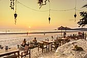 J.J. Seafood Restaurant, Long Beach, Ao Yai, sunset, Koh Phayam, Thailand