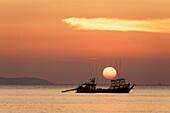 Sunset view from Buffalo Bay, Koh Phayam, Thailand