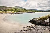 Derrynane Strand, Abbey Insel, Grafschaft Kerry, Irland, Ring of Kerry, Wild Atlantic Way, Europa