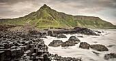 basalt pillars of Giant's Causeway, Northern Ireland, United Kingdom, Europe, UNESCO World Heritage Site