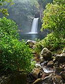 La Reunion, France La Paix cascade