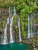 waterfall Cascade de la Grande Ravine, Langevin
