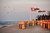 Beach on Baltic Sea, Kellenhusen,  Schleswig Holstein, Germany