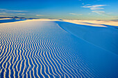 White sand dunes, White Sands National Monument, New Mexico, USA