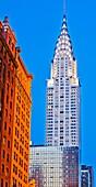 Chrysler Building, Midtown, Manhattan, New York City, New York, USA.