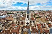 Notre Dame church, Hotel de Vogue, Dijon, Côte d'Or, Burgundy Region, Bourgogne, France, Europe