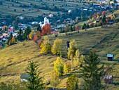 Buchovina Romania Scenic Landscape.