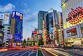 Japan, Tokyo City, Akihabara Electric Town, Chuo Avenue.