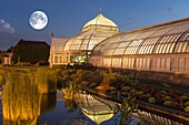 Phipps Conservatory and Botanical Gardens, Victorian style, Schenley Park, Oakland, Pittsburgh, Pennsylvania, United States