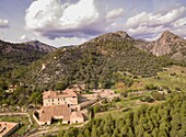 Biniazar, possession of Arab origin, Bunyola municipality, Mallorca, Balearic Islands, Spain.