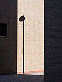Shadow of a lamppost, Valencia, Spain