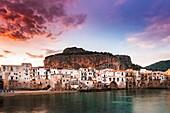 Cefalù, Palermo province, Sicily, Italy.