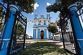 Saint Lucy Church, San Cristobal de las Casas, Chiapas, Mexico.