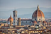 Santa Maria del Fiore cathedral in Florence, Tuscany, Italy.