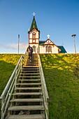Husavik, northern Iceland. Lutheran church.