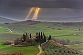 Orcia valley, Siena province, Tuscany, Italy.