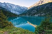 Aviolo lake in Adamello park, Brescia province, Lombardy, Italy.