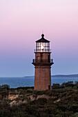 Gay Head Lighthouse, Aquinnah, Martha's Vineyard, Massachusetts, USA.