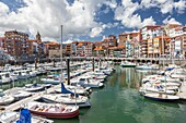 Bermeo village in Vizcaya province, The Basque Country, Spain.