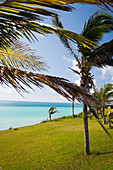 BERMUDA. Southampton Parish. A view of the water at the Munro Beach Cottages.