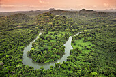 BELIZE, Punta Gorda, Toledo, some of the breathtaking scenery located around Belcampo Belize Lodge and Jungle Farm