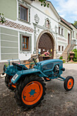 tractor, farm, Austria, Europe
