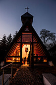 vespertine chapel, Catholic, Christian, tradition, ancient customs, Advent, Advent season, Bavaria, Germany, Europe