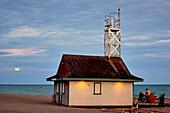 Lifeguard Station On Lake Ontario, The Beaches; Toronto, Ontario, Canada