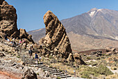 Mount Teide, Pico Del Teide, Teide National Park; Tenerife, Canary Islands, Spain