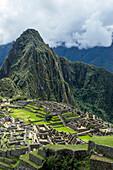 Machu Picchu; Cuzco Province, Peru