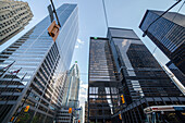 Skyscapers in downtown Toronto; Toronto, Ontario, Canada
