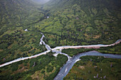 Williamsport-Pile Bay Portage Road And Chinkelyes Creek, Chigmit Mountains; Alaska, United States Of America