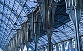Train Station Interior; Nice, Cote D'azur, France