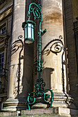 Other,One Object,Ornate,Green,Metal,Light,Street Lamp,Column,Building,Shadow,Urban,No People,Colour Image,Day,Outdoors,Decorative,Objects,Lights,Nobody,No One,Color,Color Image,Colour,Daytime,Outside