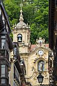 Iglesia de Santa Maria, 18th century; San Sebastian, Donostia, Spain
