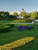 Museum of Natural History, public garden, 1. District of the inner city, Vienna, Austria