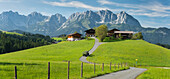 farm in Reith, Wilder Kaiser, Kitzbühel, Tyrol, Austria