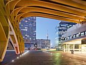 Austria Center Vienna, Danube Tower, Bruno Kreisky Park, 22. Danube City District, Vienna, Austria