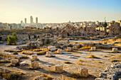 Ancient ruins of Amman Citadel, Amman, Amman Governorate, Jordan