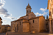 Europe,Italy,Tuscany,Siena district,Orcia Valley,San Quirico d'Orcia, Church of san Quirico