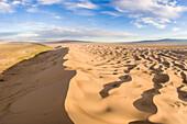 Khongor sand dunes in Gobi Gurvan Saikhan National Park, Sevrei district, South Gobi province, Mongolia