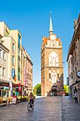 Rostock, Mecklenburg-Western Pomerania, Germany, Kroepeliner Tor city gate
