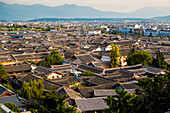 View old town of Lijiang, Lijiang, Yunnan Province, China, Asia, Asian, East Asia, Far East